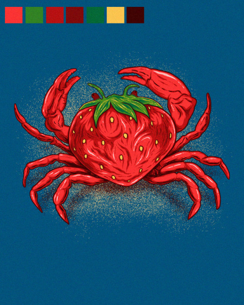 "Stawberry Crab ""SOLD"""