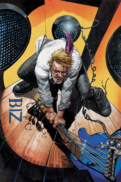 Market Monday Hellblazer #285, includes art by Carli Ihde