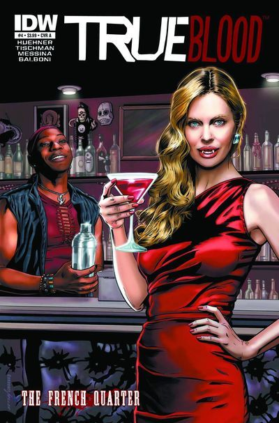Market Monday True Blood: French Quarter #4, co-written by Mariah Huehner, art by Claudia Balboni