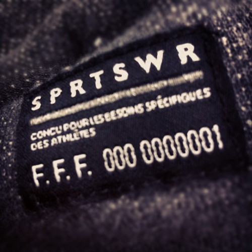 #dailyphoto #nike #france #french #fff #football #sportswear (Taken with instagram)
