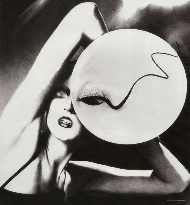 Lillian Bassman for Philip Treacy