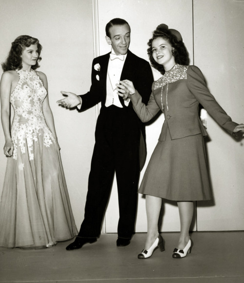 Rita Hayworth, Fred Astaire, Shirley Temple -c.1940s