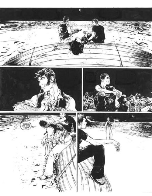 cortomal:  CORTO IN CULTURE: Corto Maltese by Paul Pope, from Psychenaut 1/3
