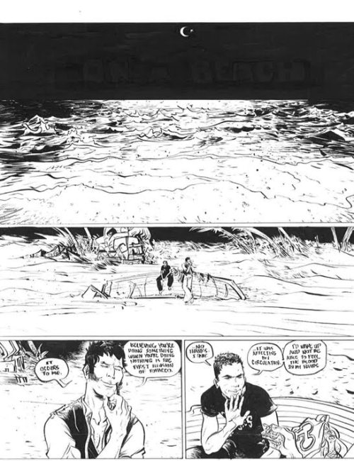 cortomal:   CORTO IN CULTURE: Corto Maltese by Paul Pope, from Psychenaut 3/3