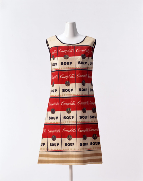"omgthatdress:  ""Souper Dress"" Andy Warhol, 1966 The Kyoto Costume Institute"