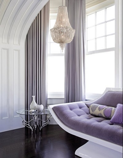 contemporary purple