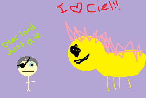 prince-soma:  Introducing: Ciel and Fluttershy~!  cyb3r bulli