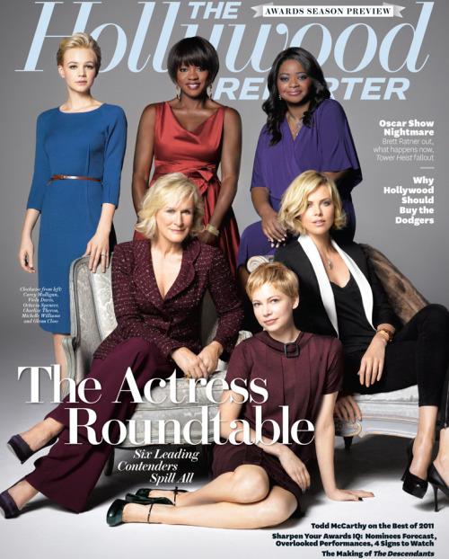 The Hollywood Reporter actress roundtable (November 2011)