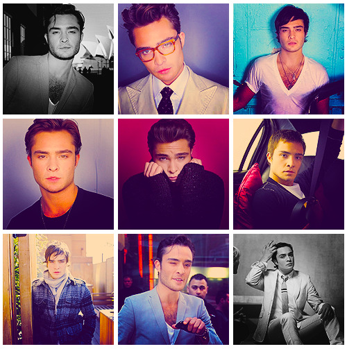 siliconesaline:       ♦ Alphabet of Beautiful Men : [E]d Westwick