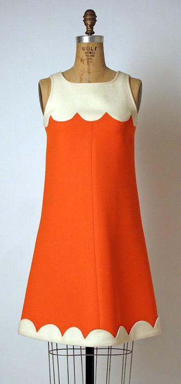 1960s style shift dress