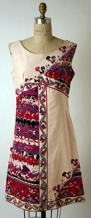 Dress Emilio Pucci, 1967 The Metropolitan Museum of Art