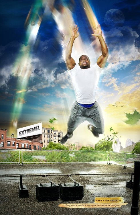 Photo manipulation by Chris Perilli for the Extreme DVD.