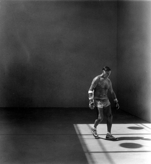 Handball Player by Jerome Liebling