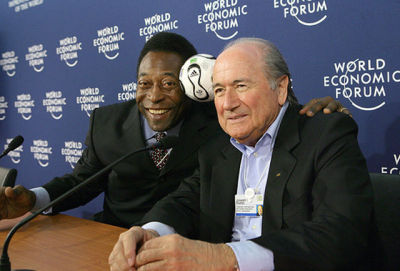 Sepp Blatter is totally cool with black people, and we've got proof