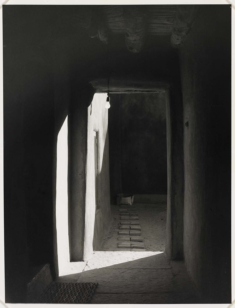 Once again… (link) Door to Patio, O'Keeffe's House, Abiqui, New Mexico 1981   Todd Webb