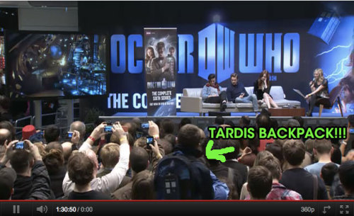 TARDIS backpack guy!!!
