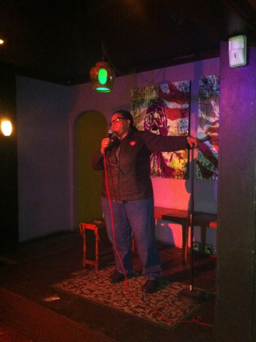 oaklandlayovercomedy:  November 15:  Aundre the Wonder Woman  Photo: John Chapman