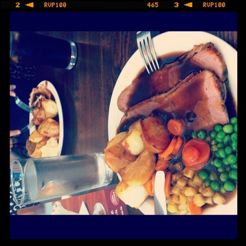 Roast dinners in Yorkshire are incredible. @NazPhull (Taken with instagram)