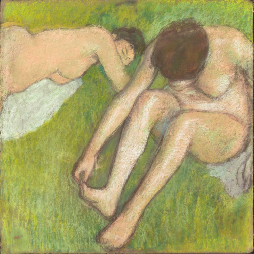 "Lloyd Schwartz went to see Degas and the Nude at the Boston Museum of Fine Arts. He says the paintings are ""full of the awkwardnesses of real life."""