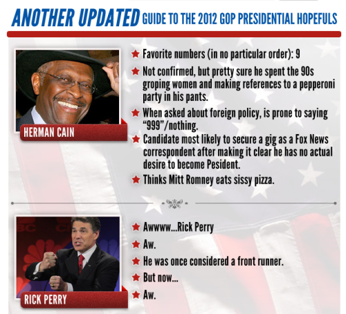 ANOTHER Updated Guide to the GOP Presidential Hopefuls Get up to speed on all eight candidates here.