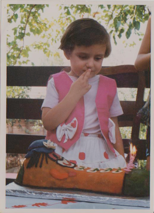 My 4th birthday.