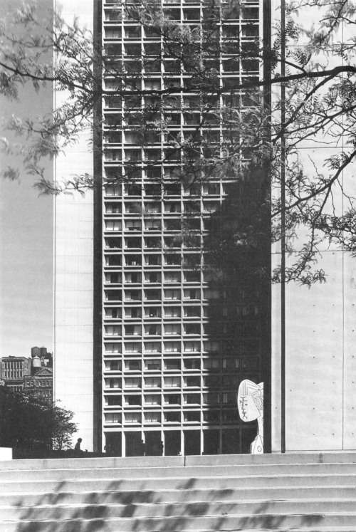 Silver Towers, New York University, 1964-66 (I.M. Pei)  I remember fondly walking by those towers on many occasions.
