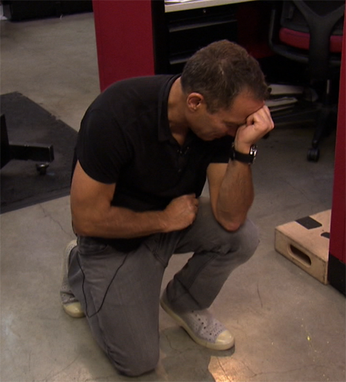 Harvey Levin Tebowing… wait, are Jewish people allowed to Tebow?!