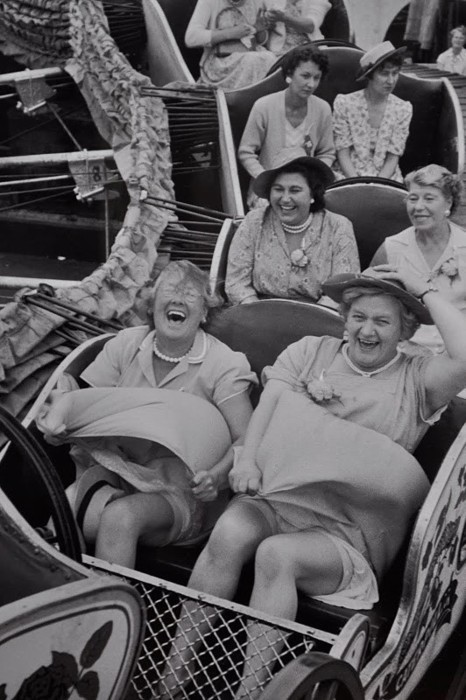 You can choose to live your life with the joy of the front row or solemness of the third row.