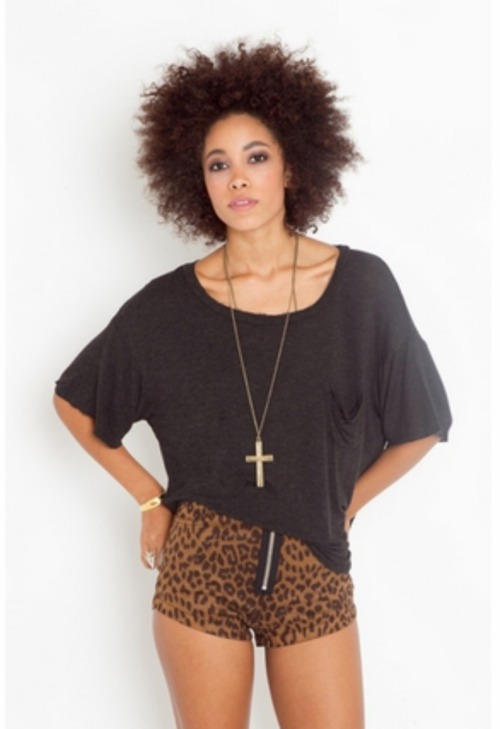 leopard and afros, my favorites