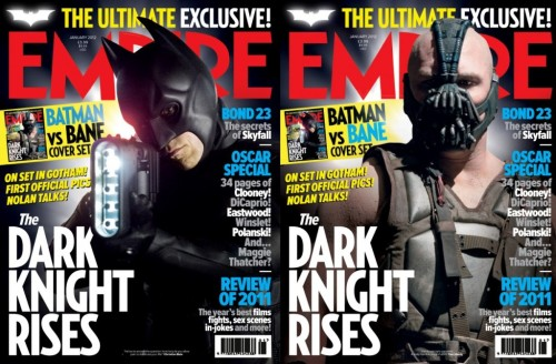 Chris Nolan reveals some details about Dark Knight Rises to Empire Magazine. The issue comes out on Thursday, but here is an excerpt (thanks to Batman-News.com):  Our story picks up eight years after The Dark Knight. In terms of finishing our story and increasing its scope, we were trying to craft an epic. It's really all about finishing Batman and Bruce Wayne's story. We left him in a very precarious place… he's an older Bruce Wayne; he's not in a great state. With our choice of villain and with our choice of story we are testing Batman both physically as well as mentally.   Yup. The 8 years certainly caught me off guard. There is lots more at the link, including some quotes from Tom Hardy and Christian Bale about Bane. What do you guys think about it?