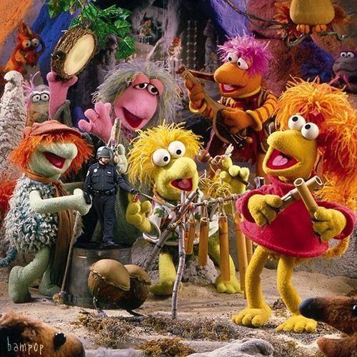 """Mic check! I want to say that this experience, occupying the Fraggle Rock, has been so amazing on every level. How we can peacefully come together with a unified voice and be happy and harmonious while sending a message to that weird old guy upstairs, its just.. its just great. Even those weird ass little Doozers are coming around and don't seem as grumpy as usualAAUAUAUAGAGHHAGAGAHAHAGAHHHHHHHHHHHHHHHHH"""