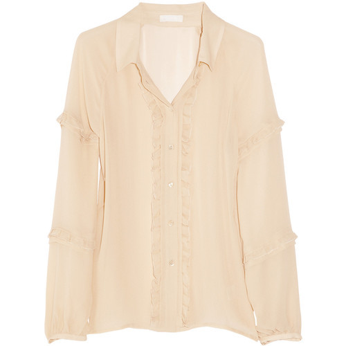 J Crew blouse   (see more collared shirts)