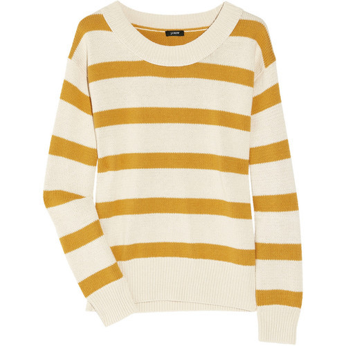 J Crew sweater   (see more long sleeve shirts)