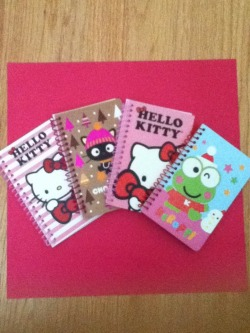 Sanrio Mini Notebooks Set of 4 $8+ shipping