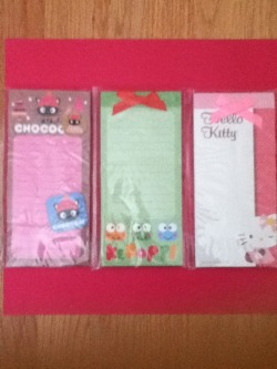 Sanrio Magnetic Notepad Set of 3 $7+ shipping