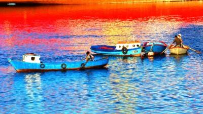 Marea Roja, Chinquihue e Isla Tenglo. Puerto Montt