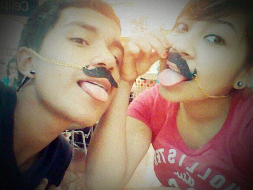 "submitted by princessalyalamo ""Daisy Felix, and Diego Vega :) 0071111<3"""
