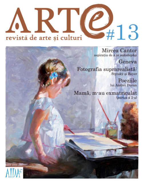 Magazine Layout: ARTe #13  the new ARTe issue has a fresh new layout design. you can check it HERE!
