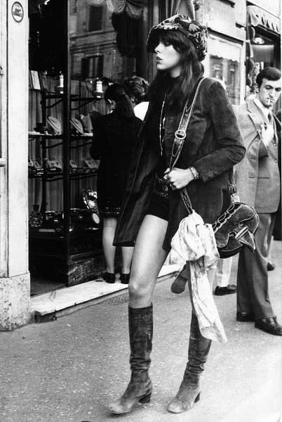Our fashion icon of the day: Jane Birkin. Why? Not only was she a sex bomb in the swinging London scene of the 60s, wrote music so elicit it was banned in three countries, but she's one of the reasons for the worlds most recognizable bag. Need we say more?