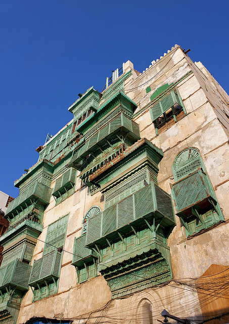 Old Jeddah houses - Saudi arabia by Eric Lafforgue on Flickr.