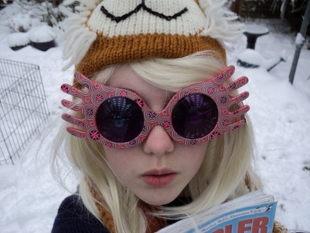 Oh look! It's my luna lovegood cosplay from aaagges ago :) I love dressing up as luna. hehe :) xxxx