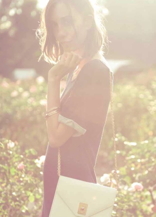 Dreamy girl Gia Coppola drenched in sunlight for Whetherly's spring 2012 look book. Photo: Courtesy of Whetherly