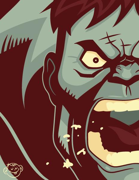 The Incredible Hulk by Dennis Salvatier