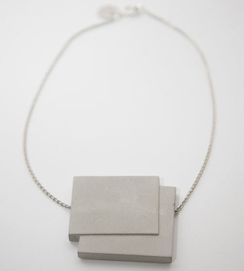 rockspapermetal:  Concrete jewelry. (via Concrete Jewelry by Bergner Schmidt | Design Milk)
