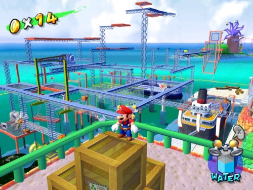Mario Sunshine, which I loved.