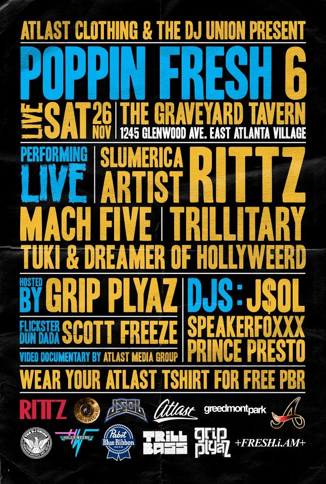 Mach Five x Rittz Live performance in ATL. 11.26.11 @ Graveyard Tavern!!!!