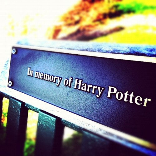 In memory of Harry Potter…