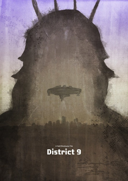 District 9 posters by Dean Walton