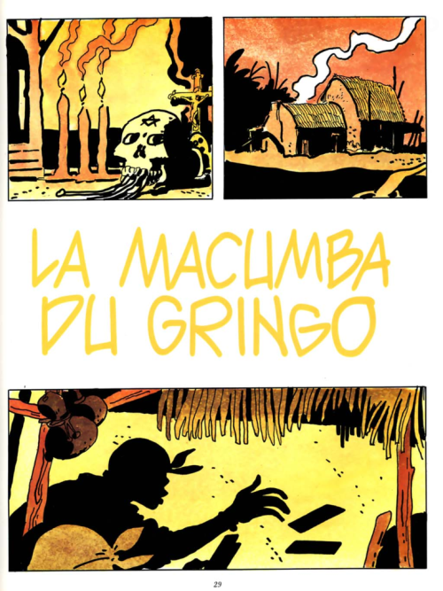 'La Macumba Du Gringo' by Hugo Pratt part 1/47