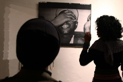 "Document The Fresh Closing, Lamont Bishop, November 26, 2011, 7-10 PM.  I know I've been mentioning the exhibition Document The Fresh for forever! It's been up now for over a week and this week is it's last. We're ending with a bang on Saturday, November 26, 2011. The show was featured in an article in the Washington Post about DC galleries. A photograph of my MF Doom piece was featured on the cover of the weekend section with a picture of my lit up Biz Markie inside. These images, shot by Astrid Riecken were also included in the online version which can be viewed here: http://www.washingtonpost.com/goingoutguide/the-new-gallery-scene/2011/11/06/gIQATaMSUN_story.html?wpisrc=nl_gogthu The Biz shot was featured again Monday, Nov 21, in the Going Out Guide on C6, telling you that our Closing Night should not be missed. Going Out Guide is linked here http://www.washingtonpost.com/gog/exhibits/document-the-fresh-closing-party,1219089.html     In addition to the large pieces I made for the show, I have 8.5x11 prints available of some of your favorite musicians. Art is always a great gift and prints are easy to display and liven up a room.    This show has been a real kick down memory lane for me. I've always surrounded myself with artists of all genres and my love for music helped spark my exploration of this realm with a camera. I've been digging through the photo crates to unearth images from near and far, digital, negatives and chromes. I'm pleased to show these images today with new life.    DOCUMENT the Fresh features works of three notable area photographers: Rosina ""Teri"" Memolo, Dafna Steinberg, and Vickey Ford. The striking images of this exhibition makes for a truly unique show that will give attendees a ""backstage pass"" and ""front row"" look into a variety of events and concerts. Viewers will be transported back to these concerts and events, tapping into all five senses.     Going Out Guide Editor's pick listing  Photo by Astrid Riecken"